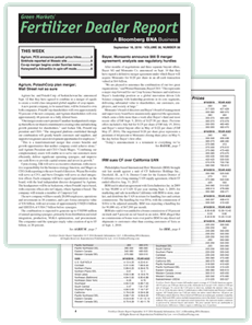 Fertilizer Dealer Report newsletter