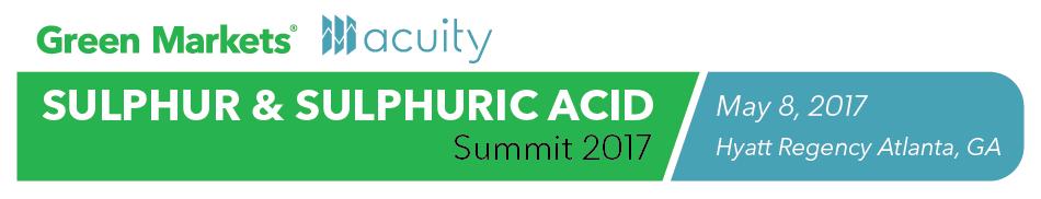 Sulphur & Sulphuric Acid Summit 2017