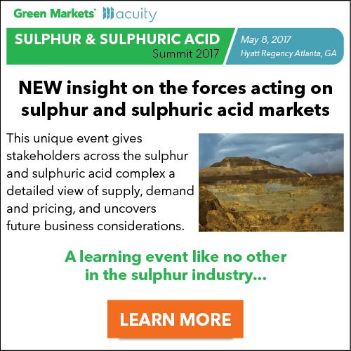 Sulphur & Sulphuric Acid Summit