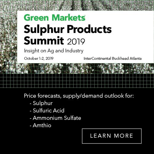 Sulphur Products Summit 2019